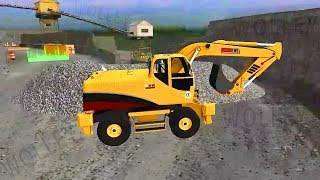 Quarry Driver 3 Giant Trucks - Large Excavator - Android Gamepplay FHD - Heavy Machines for Children
