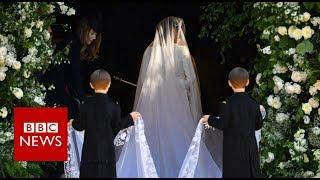 Royal wedding: Here comes the bride - BBC News