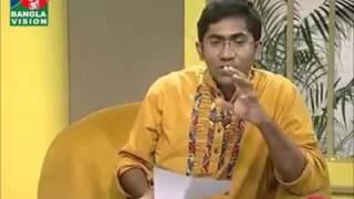 Chomok Hasan At BanglaVision-Din Protidin