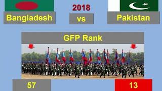 ২০১৮ সালে এসে বাংলাদেশ বনাম পাকিস্তান সেনাবাহিনী || Bangladesh vs Pakistan Military Comparison 2018