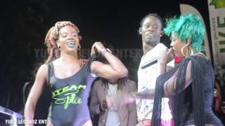 SPICE PERFORMING LIVE AT CHUG IT IN NEGRIL, JAMAICA
