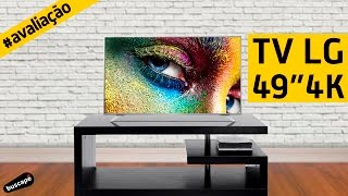Avaliação da TV LG 49