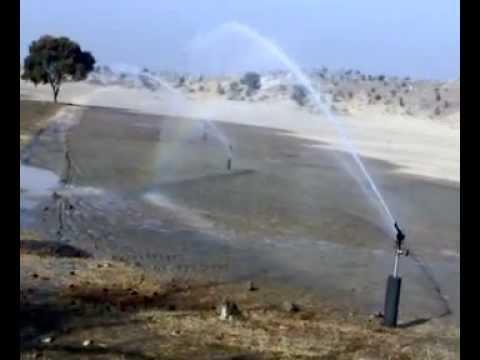 Sprinkler Irrigation System by Engr. Ali Ajaz Near Tala Gang, Chakwal