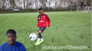 ARSENAL FC WONDER KID! OMARI HUTCHINSON | AMAZING SKILLS REACTION!!!