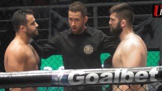 Δείτε πως ο Γιάννης Αρζουμανίδης ''έσπασε'' τον Τούρκο Mehmet Ozer στο 'GFC 8 '