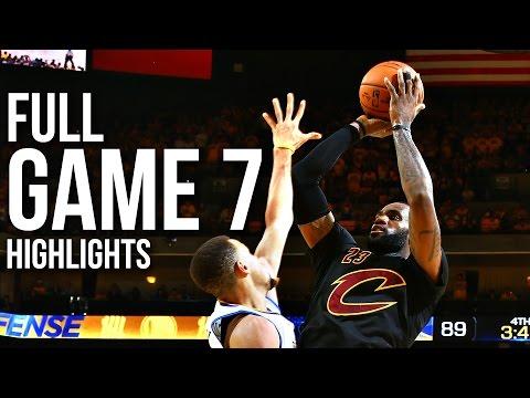 Warriors vs Cavaliers Game 7 NBA Finals 06.19.16 Full Highlights