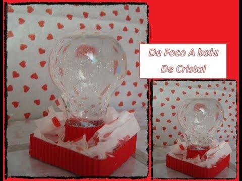 De foco a bola de cristal RECICLADO 14 de febrero CariCositas