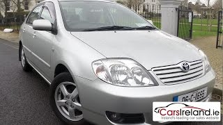 Toyota Corolla 2002 - 2006 review | CarsIreland.ie