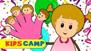 Finger Family Song | Finger Family Nursery Rhymes for Children | Eva