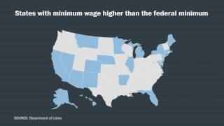 The federal minimum wage, in four charts