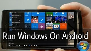 How To Run Windows On Any Android In Hindi ||No Root Requid||