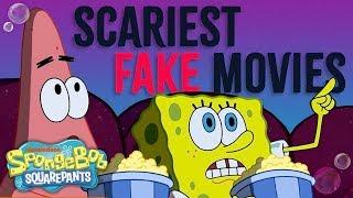 "Top 3 Scariest ""Totally Fake"" Movies! 👻 Ft. SpongeBob SquarePants | Nick"
