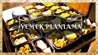 Yemek Planlama (Meal Planning) Nasıl Yapılır?
