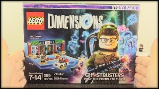 LEGO Dimensions Year 2 - Ghostbusters Story Pack Unboxing!