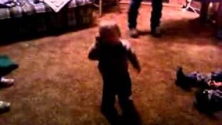 Connor McGuire dancing
