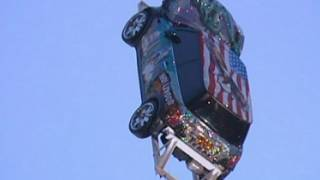 Crystal-encrusted MINI airlifted out of Trocadero in London