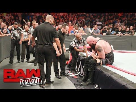 Xxx Mp4 Big Show Exits The Arena Following The Destructive Conclusion Of Raw Raw Fallout April 17 2017 3gp Sex