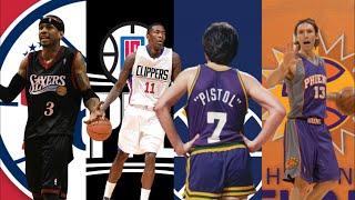 NBA Best Ball Handler Ever By Team