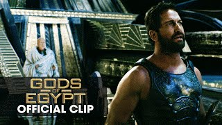 "Gods of Egypt (2016 Movie - Gerard Butler) Official Clip – ""One God"""