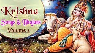Popular Krishna Songs and Bhajans (vol 2) | Nonstop Krishna Bhajans | Gujarati Devotional Songs