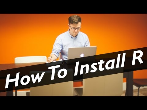 How to Download and Install R & R Studio