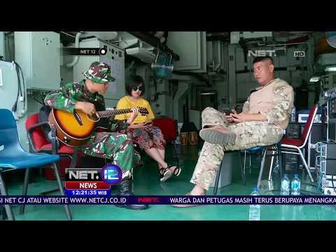 Tak Melulu Serius, Prajurit TNI Ini Pandai Bernyanyi Bahkan Hingga Ke Luar Negeri - NET12