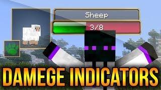 Minecraft 1.8/1.7.10/1.7.2/1.5.2 - Descargar e Instalar Damege Indicators (Indicador de Daño)