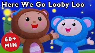 Here We Go Looby Loo and More | Hokey Pokey Dance Video | Baby Songs from Mother Goose Club!