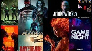Upcoming Movies 2018-2021