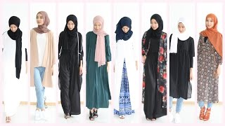 Hijab Lookbook : 13 outfit ideas Shein