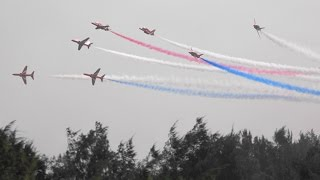 RAF Red Arrows Perform in China ! Air Show China 2016 第十一届 中国国际航空航天博览会