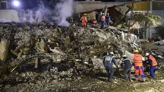 Mexico: Search continues but hope fades for quake survivors