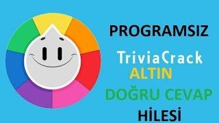 Trivia Crack Promgramsız Altın & Doğru Cevap Hilesi - Gold & True Answer Hack
