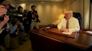 INSIDE AIR FORCE ONE - President Donald Trump