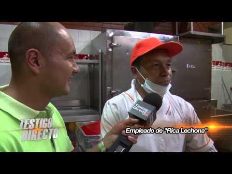 Así se prepara un Rica Lechona en Colombia TestigoDirecto