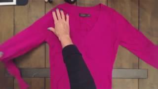 ASMR Soft Spoken ~ Folding Clothes for Tight Spaces (Tutorial)