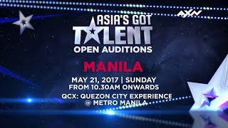 Open Audition in Manila | Asia