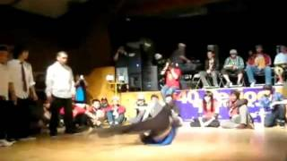 B-Boy Remedy Ground Power & Tricks