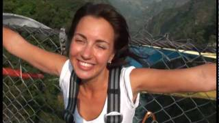 My first bungy jump: