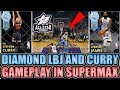 DIAMOND STEPHEN CURRY AND DIAMOND LEBRON JAMES GAMEPLAY IN NBA 2K18 MYTEAM 3gp mp4 video