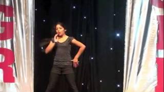 Telugu Dance Yamaho Yamma(Chiruta) : Hrudita Dhannapuneni at AMGR 2011