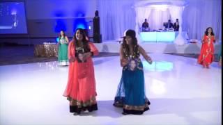 Bhavesh and Rushida - Mayuri Reception Dance