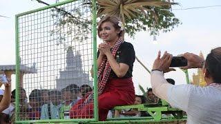 Game of dank tank girls on village festival day - Visit Cambodia