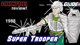 HCC788 - 1988 SUPER TROOPER - Vintage G.I. Joe toy!