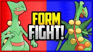 Sceptile vs Mega Sceptile | Pokémon Form Fight