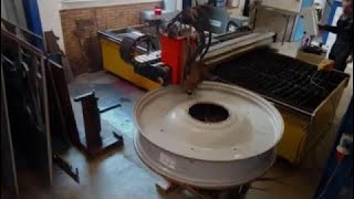 [Technology Video] Plasma Cnc Cutting : Car Wheels