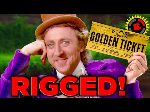Film Theory Willy Wonka RIGGED the Golden Tickets