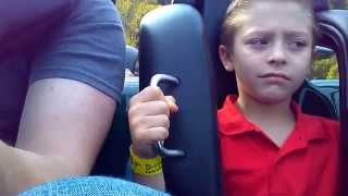 First Ride on a Roller Coaster (Funny)