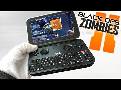 TRANZIT PORTABLE ON SMALLEST LAPTOP EVER! Call of Duty Black Ops 2 Zombies GPD Gameplay