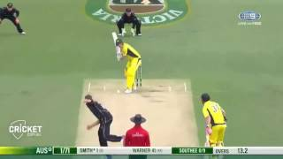 Steve Smith Brilliant 72 (76)  Half Century Against New Zealand (HD)